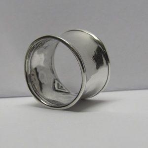 Silpada 925 Sterling Silver Wavy Cuff Ring
